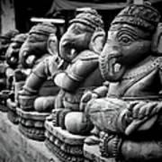 Lord Ganesha Print by Abhishek Singh & illuminati visuals