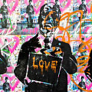 Love Chaplin Print by Darren Scicluna