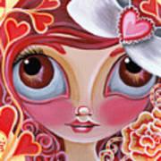 Lovey Dovey Print by Jaz Higgins
