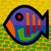 Lucky Fish II  Print by John  Nolan