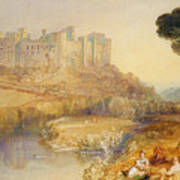 Ludlow Castle  Print by Joseph Mallord William Turner