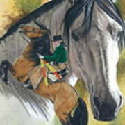 Lusitano Print by Barbara Keith