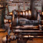 Machinist - Steampunk - 5 Speed Semi Automatic Print by Mike Savad