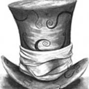 Mad Hat Print by J Ferwerda