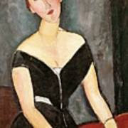 Madame G Van Muyden Print by Amedeo Modigliani
