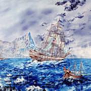 Maiden Voyage Print by Richard Barham
