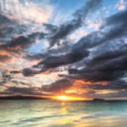 Makena Beach Maui Hawaii Sunset Print by Dustin K Ryan