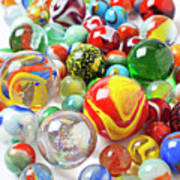 Many Marbles  Print by Garry Gay