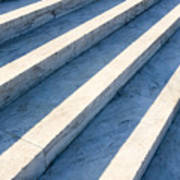 Marble Steps, Jefferson Memorial, Washington Dc, Usa, North America Print by Paul Edmondson