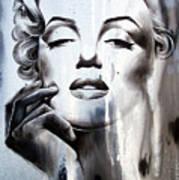 Marilyn Monroe Print by Fatima Azimova