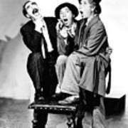 Marx Brothers, The Groucho, Chico Print by Everett