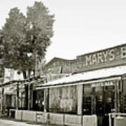 Mary's Bar Cerrillo Nm Print by Christine Till