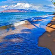 Maui Palms Print by James Roemmling