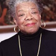 Maya Angelou Print by Robert Ponzoni