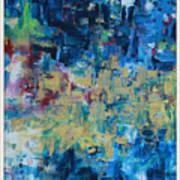 Messy Ocean Print by Joanna Georghadjis