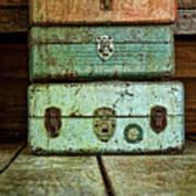 Metal Boxes Print by Tom Mc Nemar