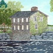 Meyers Mill Print by Peggy Holcroft