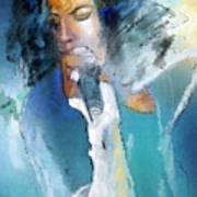 Michael Jackson 04 Print by Miki De Goodaboom