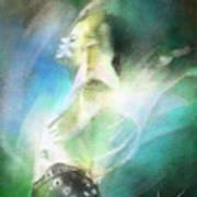 Michael Jackson 15 Print by Miki De Goodaboom
