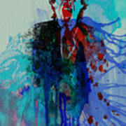 Mick Jagger Print by Naxart Studio