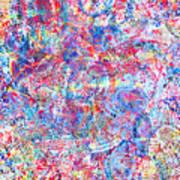 Microcosm Print by Rollin Kocsis