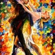 Midnight Tango Print by Leonid Afremov
