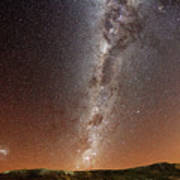 Milky Way Print by (c) 2010 Luis Argerich