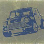 Mini Cooper Print by Naxart Studio