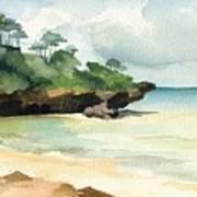 Mombasa Beach Print by Stephanie Aarons