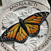 Monarch Print by Ken Hall