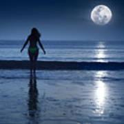 Moonlight Print by MotHaiBaPhoto Prints
