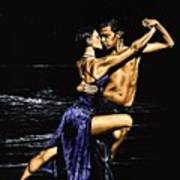 Moonlight Tango Print by Richard Young
