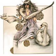 Morgaine Print by Johanna Pieterman