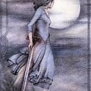 Morgan Le Fay Print by Johanna Pieterman