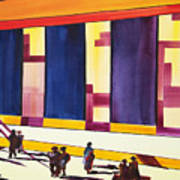 Morning Commute Cle Print by JoAnn DePolo