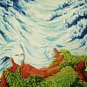 Mother Nature Print by Pralhad Gurung