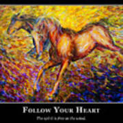 Motivational Horsea Print by Nik Helbig
