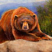 Mountain Bear Print by Susan Jenkins