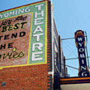 Movie Sign 1 Print by Marilyn Hunt