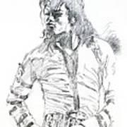 Mr. Jackson Print by David Lloyd Glover