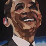 Mr. Obama Print by Chelsea VanHook