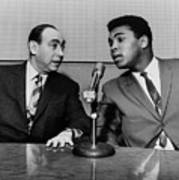 Muhammed Ali And Howard Cosell Print by Everett