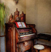 Music - Organ - Hear The Joy  Print by Mike Savad