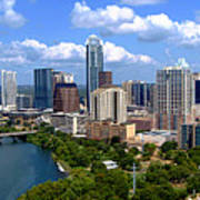 My Austin Skyline Print by James Granberry