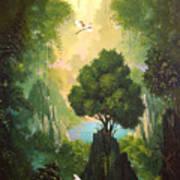 My Eden Print by Hans Doller