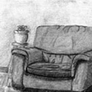 My Favorite Chair Print by Wendy Keely