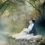 Mystic Contemplation Print by Mary Hood