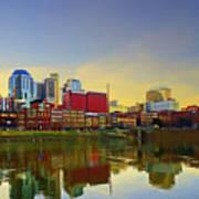 Nashville Tennessee Print by Steven  Michael