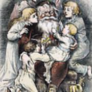 Nast: Christmas, 1879 Print by Granger