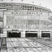 Nationals Park Print by Juliana Dube